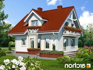 Projekt dom w rododendronach ver 2  260lo