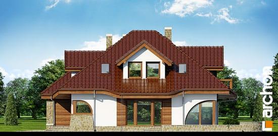 Elewacja boczna projekt dom w zefirantach ver 2  265
