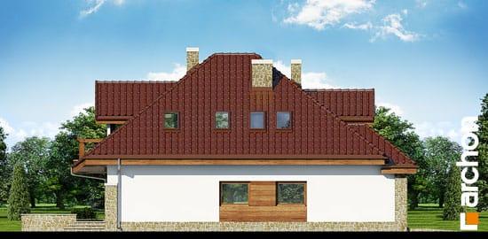 Elewacja boczna projekt dom w zefirantach ver 2  266