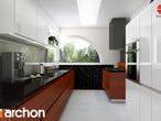 projekt Dom w zefirantach Aranżacja kuchni 1 widok 2
