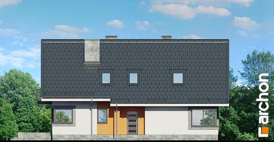 Elewacja frontowa projekt dom w wilcach ver 2  264