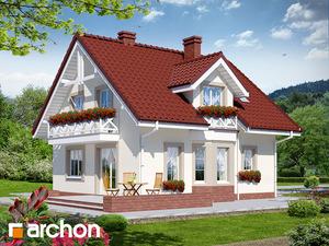 Projekt dom w rododendronach 2 ver 2  260