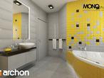 projekt Dom w tamaryszkach 4 Wizualizacja łazienki (wizualizacja 1 widok 1)