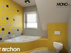 projekt Dom w tamaryszkach 4 Wizualizacja łazienki (wizualizacja 1 widok 2)