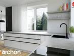 projekt Dom w czarnuszce (G2) Aranżacja kuchni 1 widok 3