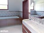 projekt Dom w czarnuszce (G2) Wizualizacja łazienki (wizualizacja 3 widok 1)