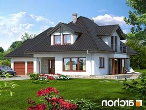 projekt Dom w czarnuszce (G2) lustrzane odbicie 1