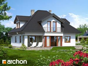 projekt Dom w czarnuszce (G2) widok 2
