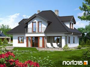 projekt Dom w czarnuszce (G2) lustrzane odbicie 2
