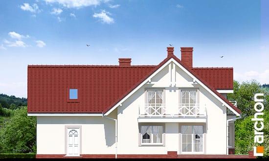 Elewacja ogrodowa projekt dom w rododendronach 2 g2 ver 2  267