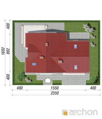 projekt Dom w rododendronach 2 (G2) sytuacja