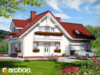 projekt Dom w rododendronach 2 (G2) widok 1