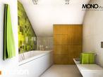 projekt Dom w zielistkach Wizualizacja łazienki (wizualizacja 1 widok 3)