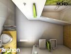 projekt Dom w zielistkach Wizualizacja łazienki (wizualizacja 1 widok 5)