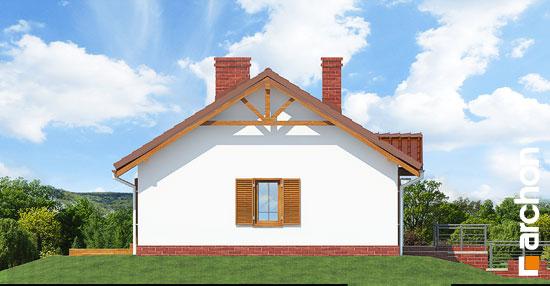 Elewacja boczna projekt dom w jezynach ver 2  266