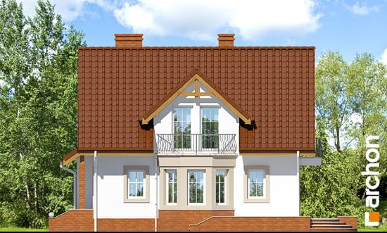 Elewacja boczna projekt dom w tamaryszkach 2 ver 2  265