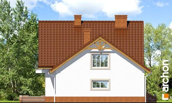 Elewacja boczna projekt dom w tamaryszkach 2 ver 2  266