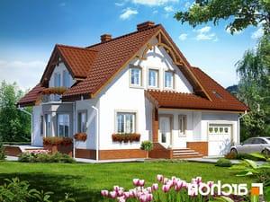 Projekt dom w tamaryszkach 2 ver 2  252lo