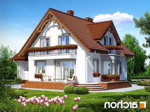 projekt Dom w tamaryszkach 2 lustrzane odbicie 2