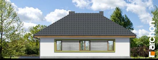 Elewacja ogrodowa projekt dom w powojach 2 ver 2  267