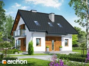 projekt Dom w borówkach 4