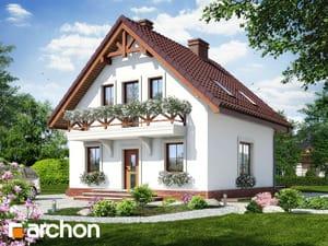 projekt Dom w rododendronach 11 (P)