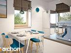projekt Dom w borówkach (R2) Wizualizacja kuchni 1 widok 2