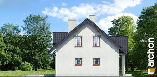 Elewacja boczna projekt dom pod jemiola 3 ver 2  266