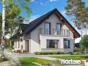 projekt Dom pod jemiołą 3 lustrzane odbicie 2