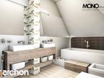 projekt Dom w rukoli Wizualizacja łazienki (wizualizacja 1 widok 1)