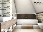 projekt Dom w rukoli Wizualizacja łazienki (wizualizacja 1 widok 2)