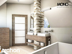 projekt Dom w rukoli Wizualizacja łazienki (wizualizacja 1 widok 3)