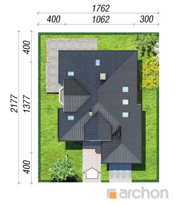 projekt Dom w rukoli sytuacja