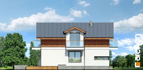 Elewacja boczna projekt dom w budlejach ver 2  266