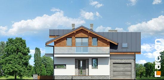 Elewacja frontowa projekt dom w budlejach ver 2  264