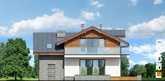 Elewacja ogrodowa projekt dom w budlejach ver 2  267