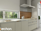 projekt Dom w budlejach Aranżacja kuchni 2 widok 3