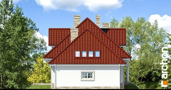 Elewacja boczna projekt dom w kaliach ver 2  265