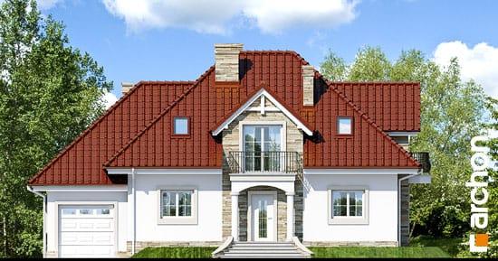 Elewacja frontowa projekt dom w kaliach ver 2  264
