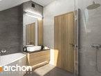 projekt Dom - Miniaturka (N) Wizualizacja łazienki (wizualizacja 3 widok 1)