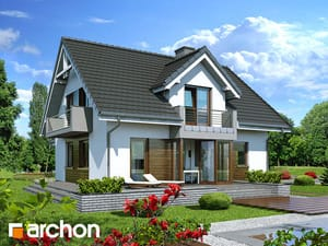 projekt Dom w rododendronach 5 (N)