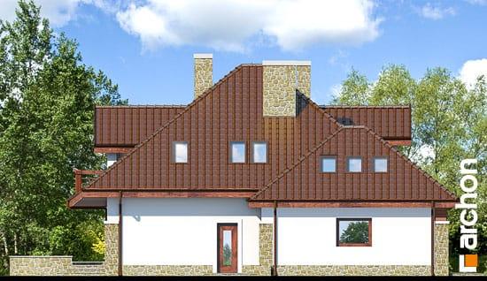 Elewacja boczna projekt dom w zefirantach g2 ver 2  266