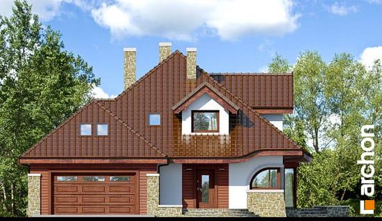 Elewacja frontowa projekt dom w zefirantach g2 ver 2  264