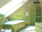 projekt Dom w zefirantach (G2) Wizualizacja łazienki (wizualizacja 1 widok 1)