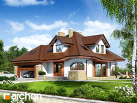 projekt Dom w zefirantach (G2) widok 1