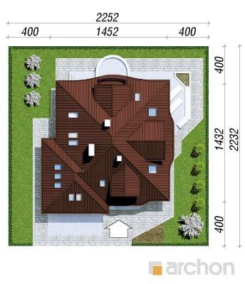 projekt Dom w zefirantach (G2) sytuacja