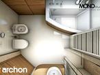 projekt Dom w perłówce (N) Wizualizacja łazienki (wizualizacja 1 widok 5)
