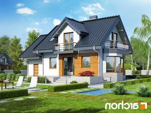 projekt Dom w perłówce (N) lustrzane odbicie 2