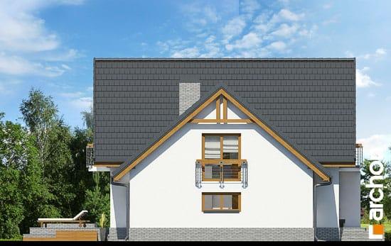 Elewacja boczna projekt dom w morelach n ver 2  266