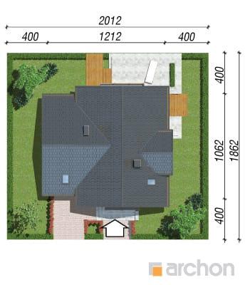 projekt Dom w morelach (N) sytuacja